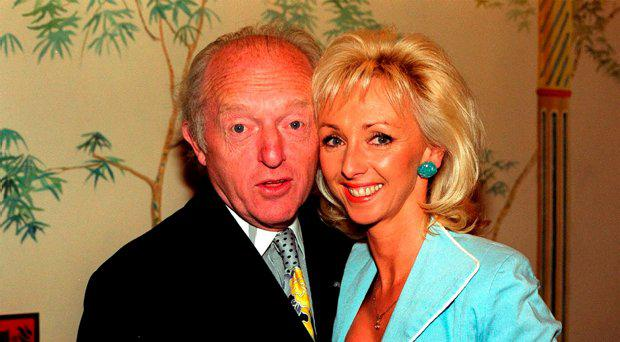 File photo dated 15/04/99 of magician Paul Daniels with his wife Debbie McGee, as Daniels has died today aged 77