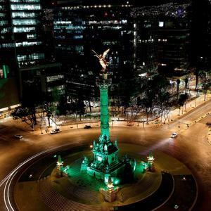 EL ÁNGEL DE LA INDEPENDENCIA IN MEXICO JOINS TOURISM IRELANDS GLOBAL GREENING