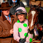 On a heady afternoon in the Cotswolds that saw Ruby Walsh (p) hit a half-century of Festival wins aboard Black Hercules Photo: Sportsfile