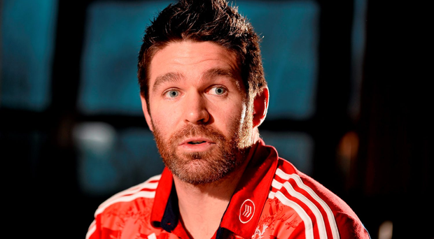 Munster's Billy Holland (Sportsfile)