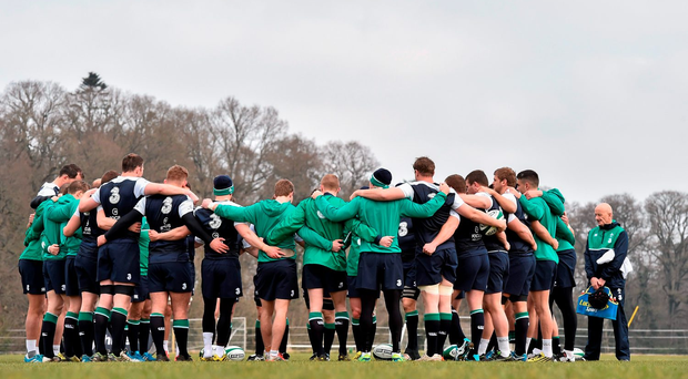 Is beating Scotland the target by which Ireland should be measured? Has this team fallen to such a degree that a third-place finish in the Six Nations is now considered an acceptable return? (SPORTSFILE)