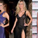 (L to R) Wesley Quirke and Rosanna Davison in 2009; Lisa Murphy in 2011 and Pippa O'Connor in 2015