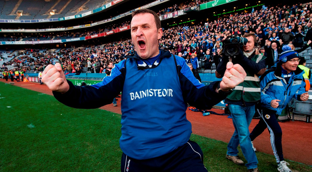 Andy McEntee celebrates All Ireland glory with Ballyboden
