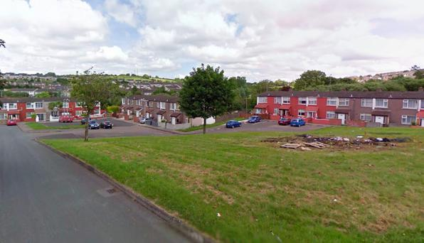 The package, which apparently had wires visible from it, was discovered near Shannon Lawn in the Mayfield area of Cork city shortly after 4am (Photo: Google Maps)