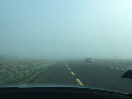 Fog in the Midlands (Photo: Independent.ie)