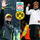 Jurgen Klopp will return to Dortmund in the Europa League quarter-final