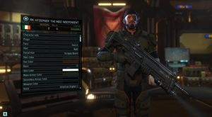 XCOM 2 - Soldier creation screen