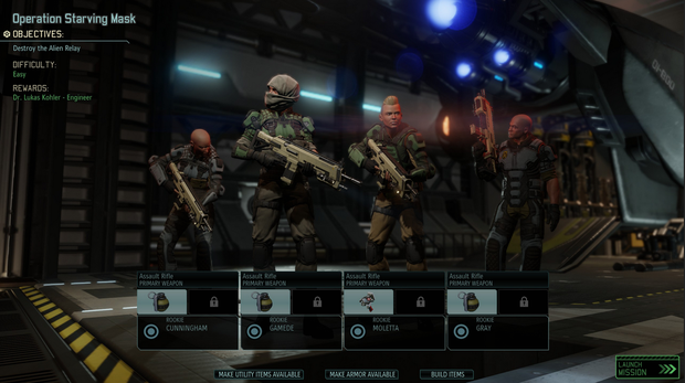 XCOM 2 - Squad ready to rock und roll. Word.