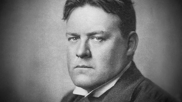 Writer Hilaire Belloc.