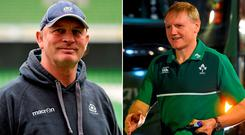 Old friends Vern Cotter and Joe Schmidt will be looking for bragging rights in Murrayfield