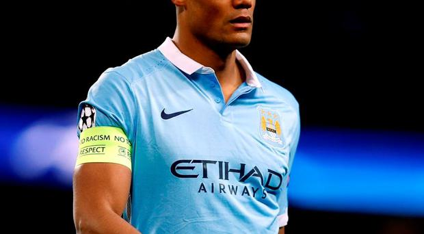 Vincent Kompany: Future up in the air. Photo: Peter Byrne/PA Wire