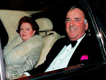 INVITATIONS: Ambassador's guests included Terry and Helen Wogan. Photo: Reuters