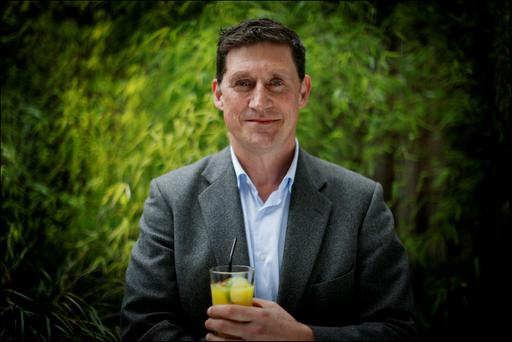 CHANGING WORLD: The Green Party's Eamon Ryan in the garden of Avoca on Suffolk Street. Photo: David Conachy