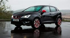FUN AND GOOD-LOOKING: But the Seat Ibiza FR has still more to do