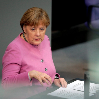 RAISING CONCERNS: German Chancellor Angela Merkel, as head of the most powerful country in Europe, recently bypassed the EU institutions and other member states when dealing with Turkey on the migration crisis. Photo: AP Photo/Michael Sohn