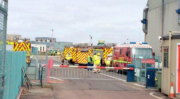 The scene at Norwich Airport (Photo: Eastern Daily Press)