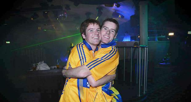 Patrick (left) pictured with his late brother Stephen