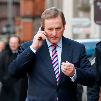 Taoiseach Enda Kenny's media perfomance will be probed. Photo: Frank McGrath
