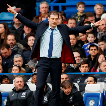West Ham manager Slaven Bilic Photo: Reuters / John Sibley