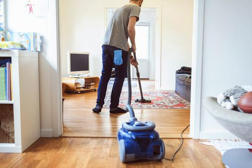 Study after study reveals that in households where both partners are working full time, men are still falling far short on doing their fair share. Photo: Getty