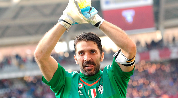 Gianluigi Buffon set the record for the longest time without conceding a goal in the Serie A Photo: REUTERS/Giorgio Perottino