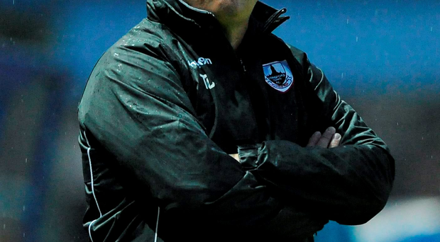 Longford manager Tony Cousins Photo: Seb Daly / SPORTSFILE