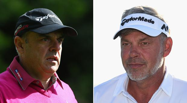 Paul McGinley and Darren Clarke have buried the hatchet