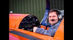 Pilot William Hillick who was killed in Longford crash on March 20, 2016