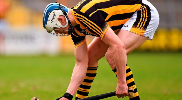 Kilkenny's ever-reliable sharpshooter lines up a free against Dublin on Sunday. Photo: Stephen McCarthy / Sportsfile