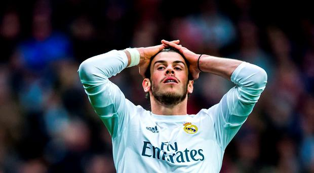 Bale was devastated by Rafa Benitez's dismissal as manger, which raised questions over his long-term future at Real but he has since insisted he is happy under Zinedine Zidane. Photo: Getty