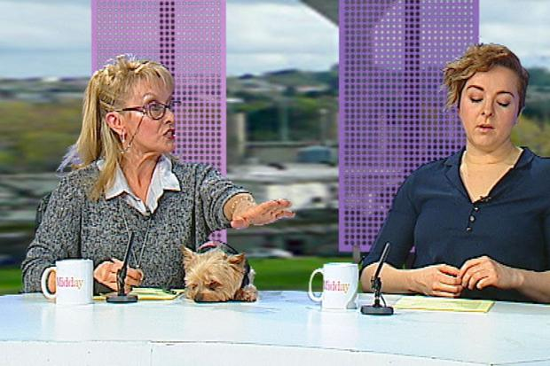Twink is on the panel of the Midday Show. Photo: TV3