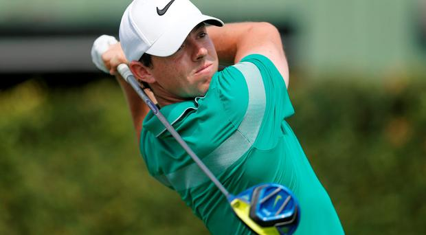 Rory McIlroy will face Denmark's Thorbjorn Olesen and American pair Kevin Na and Smylie Kaufman