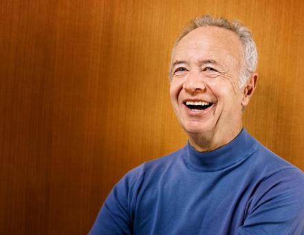 Silicon Valley elder statesman Andy Grove. REUTERS/Courtesy Intel