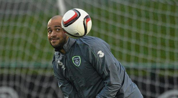 Republic of Ireland 's Darren Randolph