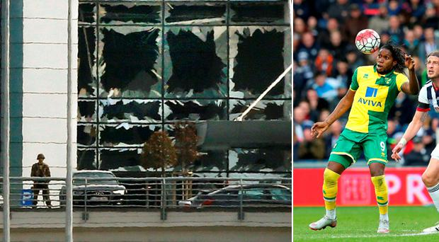 Dieumerci Mbokani was at the Zaventem Airport in Brussels this morning when a suicide bomber set off an explosion