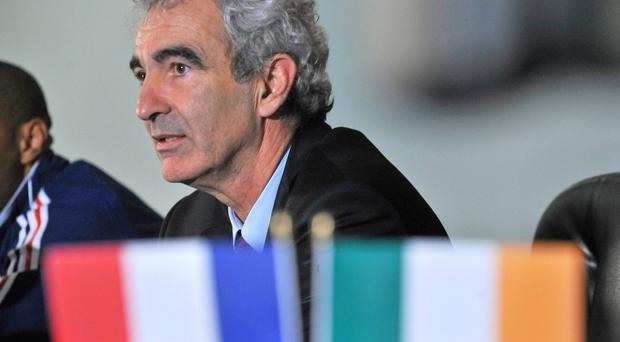 Raymond Domenech was extremely close to managing Ireland