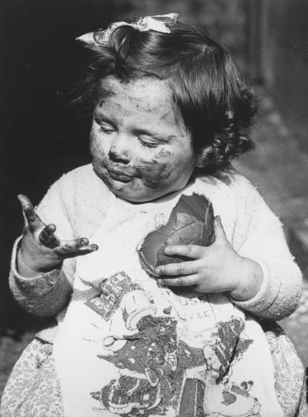 The average child will consume between 60 and 250 Easter eggs