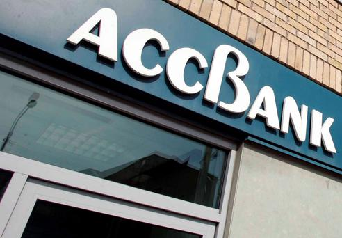 ACC Bank quit the Irish market in late 2013, withdrawing day-to-day bank services such as deposit and current accounts
