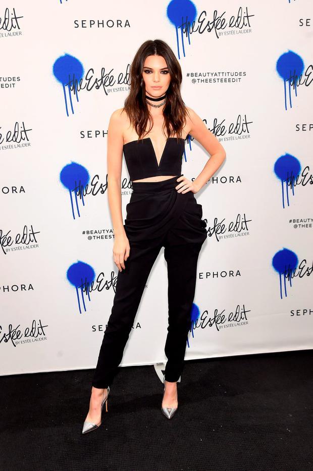 Kendall Jenner kicks-off the launch of the Estee Edit By Estee Lauder at Sephora on March 22, 2016 in New York City. (Photo by Jamie McCarthy/Getty Images)