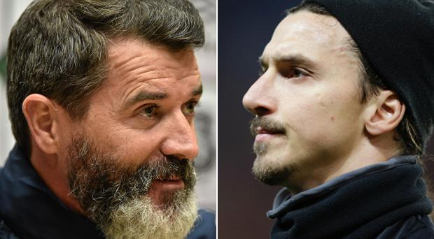 Roy Keane is a fan of Zlatan Ibrahimovic