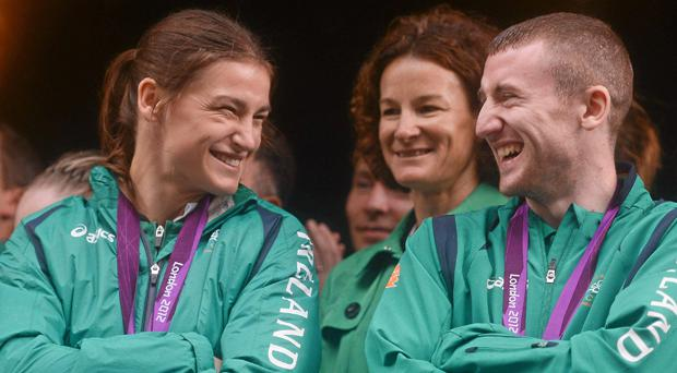 Katie Taylor and Paddy Barnes