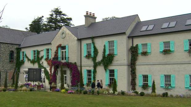 Montalto Lodge in Ballynahinch is the scene for Disney's latest musical, The Lodge.