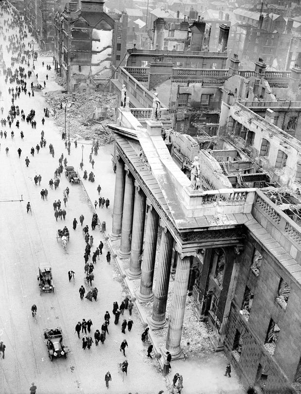 Utopian claims that the ideals of the 1916 Rising have been betrayed in the century since do no stand up when the quality of life for people in Ireland is compared with other countries around the world. Photo: PA