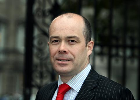 Some deft footwork by TD Denis Naughten has seen him eclipse Shane Ross as the current man who would be kingmaker. Photo: Tom Burke