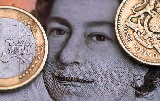 Sterling came under more selling pressure on Tuesday on a view that the deadly attacks in Brussels would boost the campaign to take Britain out of the EU. Photo: Reuters