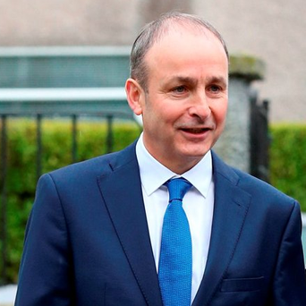 Irish general election...Fianna Fail Leader Micheal Martin, arrives with his wife Mary, at St Anthony's Boys Primary School in Ballinlough, Cork, as they cast their votes during the 2016 General Election. PRESS ASSOCIATION Photo. Picture date: Friday February 26, 2016. As the electorate increasingly turns away from mainstream parties to smaller factions and Independents, a hung parliament is widely predicted. See PA story IRISH Election. Photo credit should read: Chris Radburn/PA Wire...A