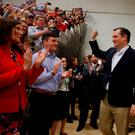 Republican US presidential hopeful Ted Cruz arrives at a campaign rally in Provo, Utah, where he managed to win the caucuses. Photo: Reuters/Jim Urquhart. Photo: Reuters