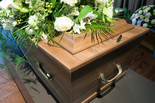 Grieving relatives noticed something had changed about Val Jean McDonald as they filed past her open casket – but put it down to death and the ravaging effects of the cancer that had killed the 81-year-old woman. (Stock image)