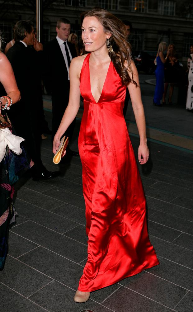 Jecca Craig arrives for the Boodles Boxing Ball at Park Plaza Westminster Bridge Hotel on October 1, 2011 in London, England. (Photo by Indigo/Getty Images)
