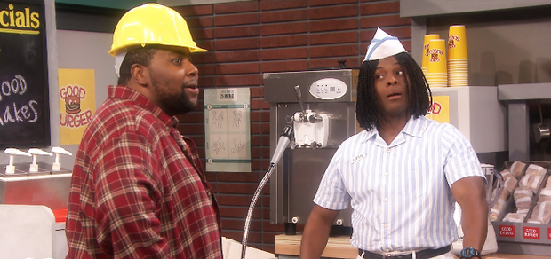 Kenan and Kel in a Good Burger sketch for The Tonight Show Starring Jimmy Fallon. Photo: NBC